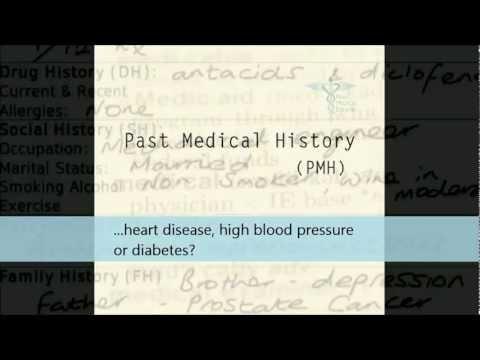 Medical English - 2. Taking A History