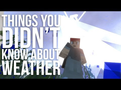 Things You Didn't Know About Minecraft Weather