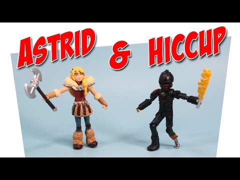 How to Train Your Dragon 2 Astrid & Hiccup Action Figures