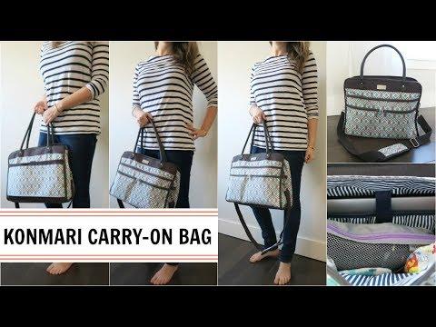 Travel   KonMari Packing - Carry-on Bag