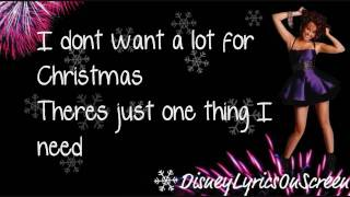 Miley Cyrus - All I Want For Christmas Is You (Lyrics On Screen) HD