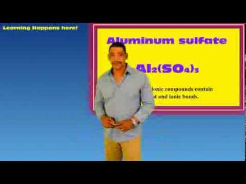 MOLAR MASS OF A TERNARY IONIC COMPOUND: Aluminum Sulfate