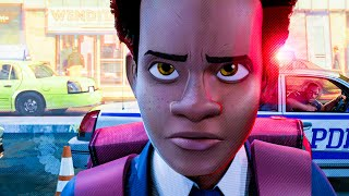 Full Dad I Love You Scene - SPIDER-MAN: INTO THE SPIDER-VERSE (2018) Movie Clip