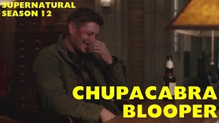 """Hunting With Your Mother """"Chupacabra"""" BLOOPER (Supernatural)"""
