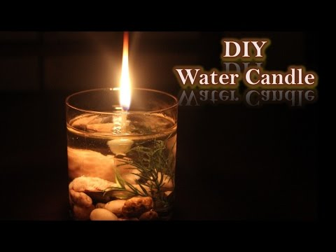 Life hack - Water Candle | Christmas lighting | DIY water candle