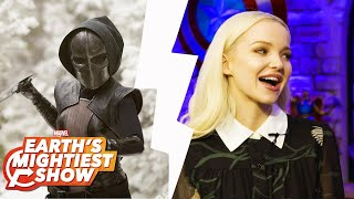Talking with Dove Cameron and Pondering a Singing Wolverine on Earth