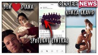 BEN MITKUS TILLSAMMANS MED DIANA BABAN #Clueenews KENZA ÄR GRAVID