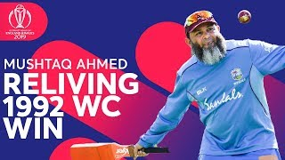 Mushtaq Ahmed Relives 1992 World Cup Win! | ICC Cricket World Cup 2019
