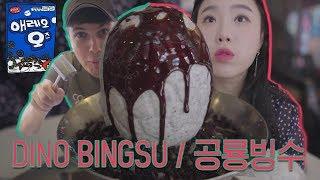 Download KOREAN DINOSAUR ICE CREAM... NyamNyeo + Korea's Best Food l Busan Food and Travel Guide Video