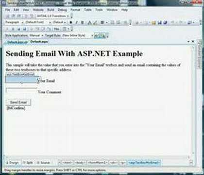 How To Send Email With ASP.NET