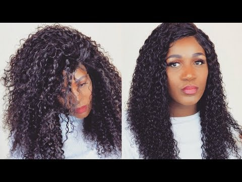 HOW TO DEFINE | RESTORE CURLS ON A CURLY HAIR WIG |UNice HAIR