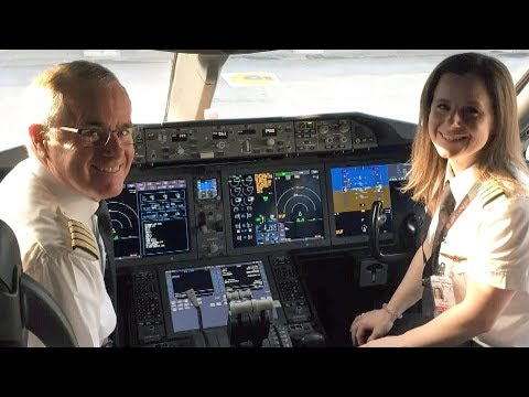First father-daughter duo to pilot Air Canada flight
