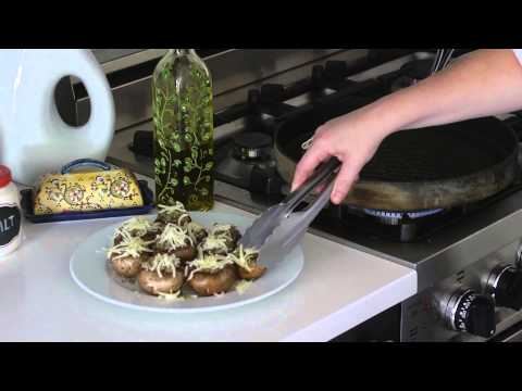 How to Make Stuffed Mushrooms for Grilling : Simply Delicious Recipes