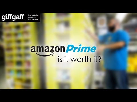 Amazon Prime, is it worth it? | giffgaff