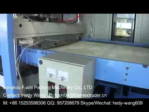 PS Foam Ceiling Tiles Making Machine