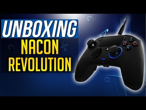 NACON REVOLUTION UNBOXING PS4 PRO Controller - Official PlayStation 4 Controller