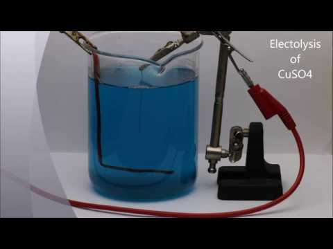 CuSO4 Electrolysis - Making Sulfuric Acid (revisited)
