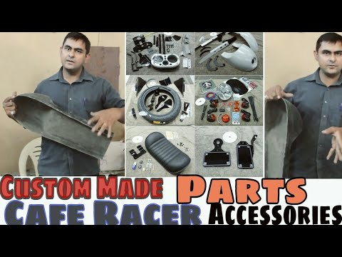 Custom Hand Made Cafe Racer Bike Parts By Dochaki Custom Motorcycles Pune #caferacer