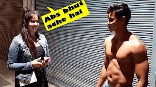 Cute Girls Judging Bodybuilder In Public | (Amazing Reactions)