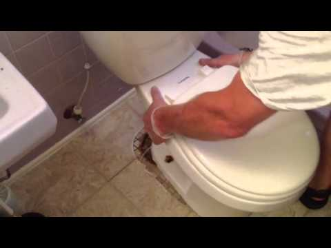 Replacing the wax ring on a toilet. By How-to Bob