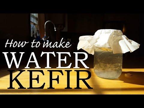 How To Make WATER KEFIR - The EASIEST Probiotic Fermented Soda