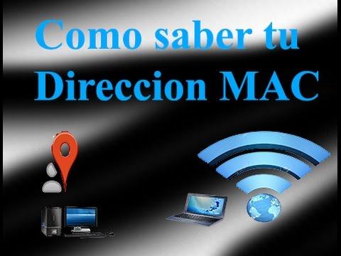 Como saber mi direccion MAC Local y Inalambrica PC/Laptop