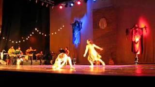 Grupo Quorum  Y Compañia De Danza Calaukalis De Concepcion ,la Jardinera ,violeta Parra