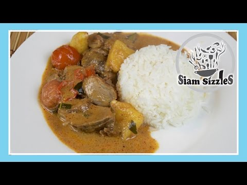 Thai Grilled Duck Curry (Gaeng Phed Ped Yaang)