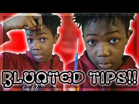 High Top Dreads | How To Blunt Dreadlock Tips!!