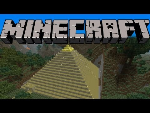MINECRAFT: How To Make A Pyramid