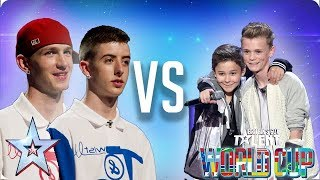 KNOCKOUT MATCH: Twist & Pulse vs Bars & Melody | Britain
