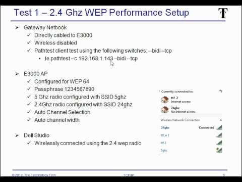 WEP vs WPA2 Performance test - Speed up your WiFi