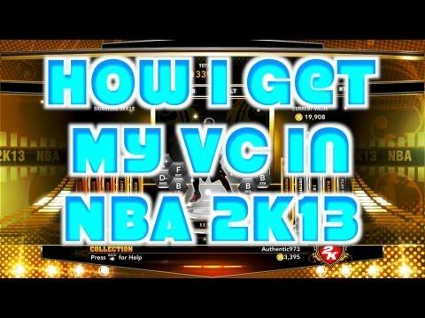 NBA 2K13 - MyTeam - How I Get My VC in NBA 2K13