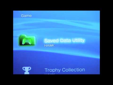 ***How to Copy PS3 Save data onto a flashdrive***