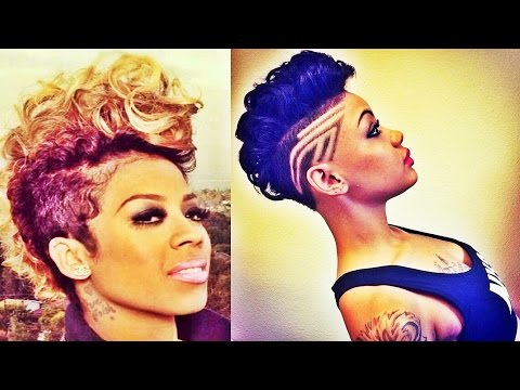 Trendy Shaved Haircuts 2016 Short Hairstyles for Black Women