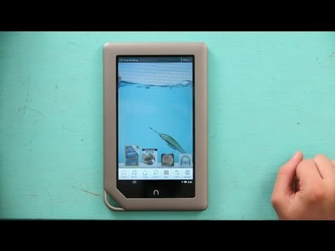 How to Get Live Wallpaper on a NOOK : NOOK & NOOK Colors
