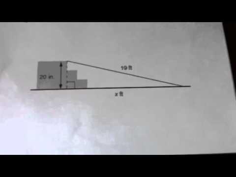 Pythagoras Wheelchair Ramp