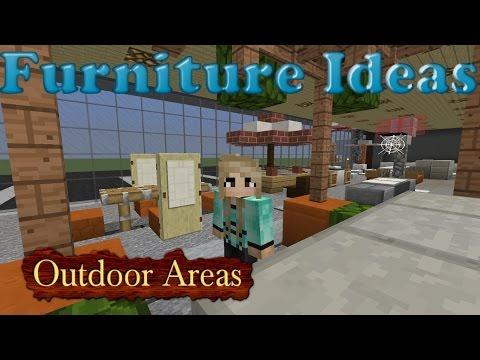 Minecraft Furniture Ideas: Kiwi Designs for Outdoor Furniture