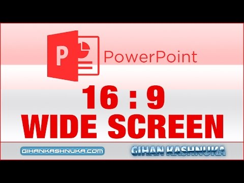 How to Set 16:9 Resolution in Powerpoint Presentation (Full Screen)