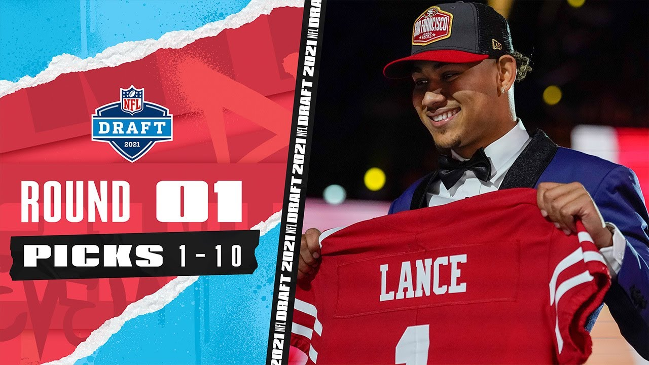 Pick 1-10: 3 Quarterbacks, The Highest Drafted TE, & A Late Trade! | 2021 NFL Draft