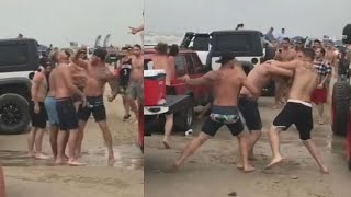 Download WILD FIGHTS: Nearly 70 arrests at Go Topless Jeep weekend Video