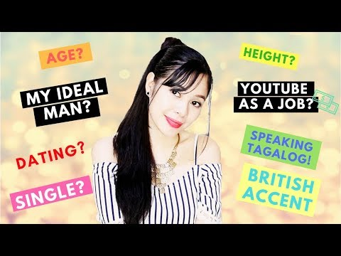 Personal Q & A -Special Announcement-YouTube As a Job, Speaking Tagalog, Relationship Status
