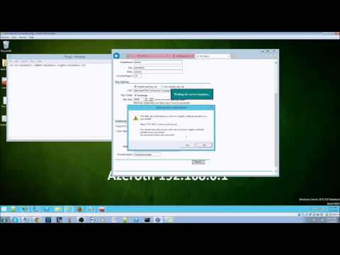 UC/SAN Certificate tutorial for Windows 2012r2
