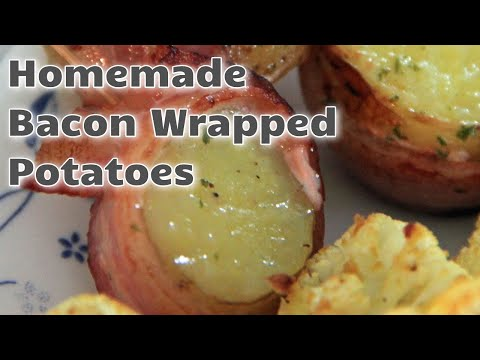 Recipe Bacon Wrapped Potatoes