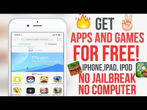 How to Install Unofficial or Paid Apps on iOS 11 or Below for free Without Jailbreak.