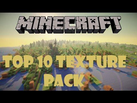 Top 10 Texture pack Minecraft 1.7/1.8 [ITA]