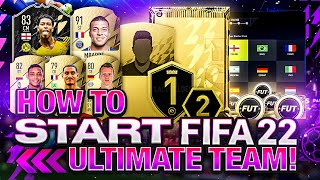How to Start FIFA 22 Ultimate Team!