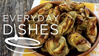 How To Roast An Artichoke