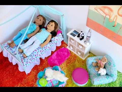 Setting Up American Girl Doll Canopy Bed
