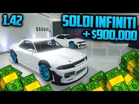 GTA 5 Online - SOLDI INFINITI! 900,000$ in 5 min (GTA Online Glitch 1.42)